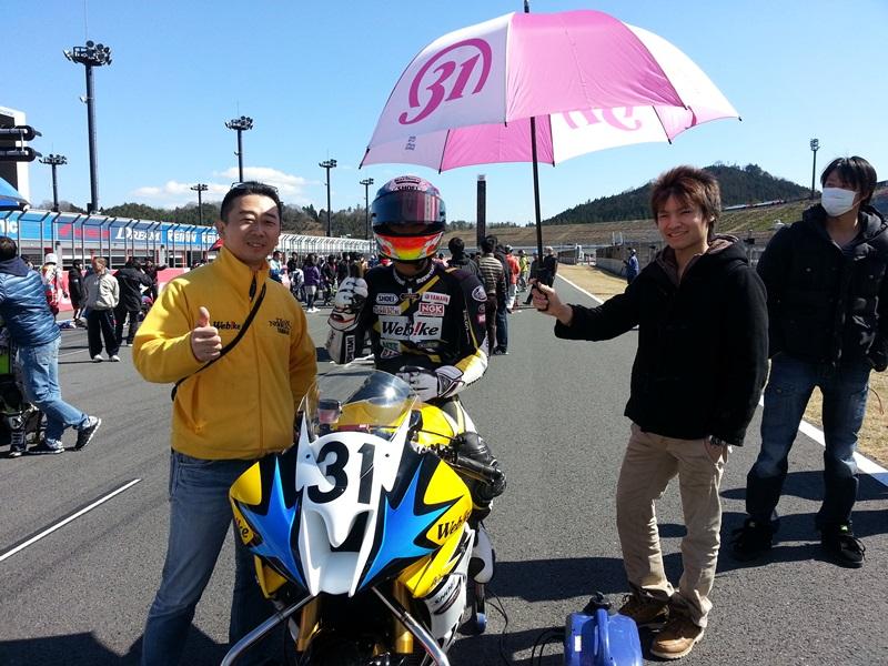 【レースレポート】もてぎロードレース選手権 ST600クラス 第1戦
