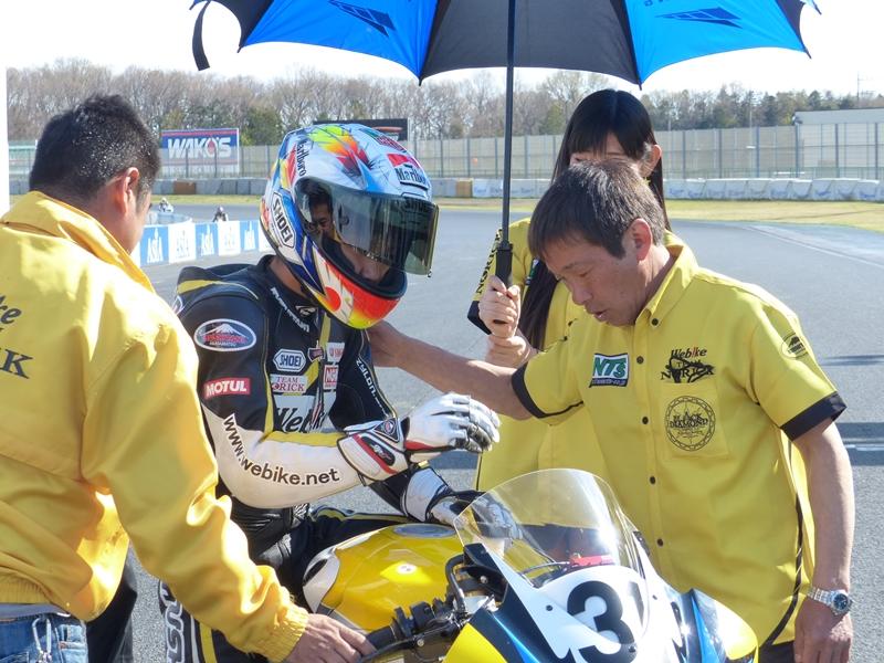 【レースレポート】筑波ロードレース選手権 ST600クラス 第1戦