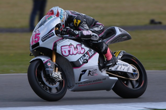 Nagashima takes top 20 finish at difficult Dutch TT