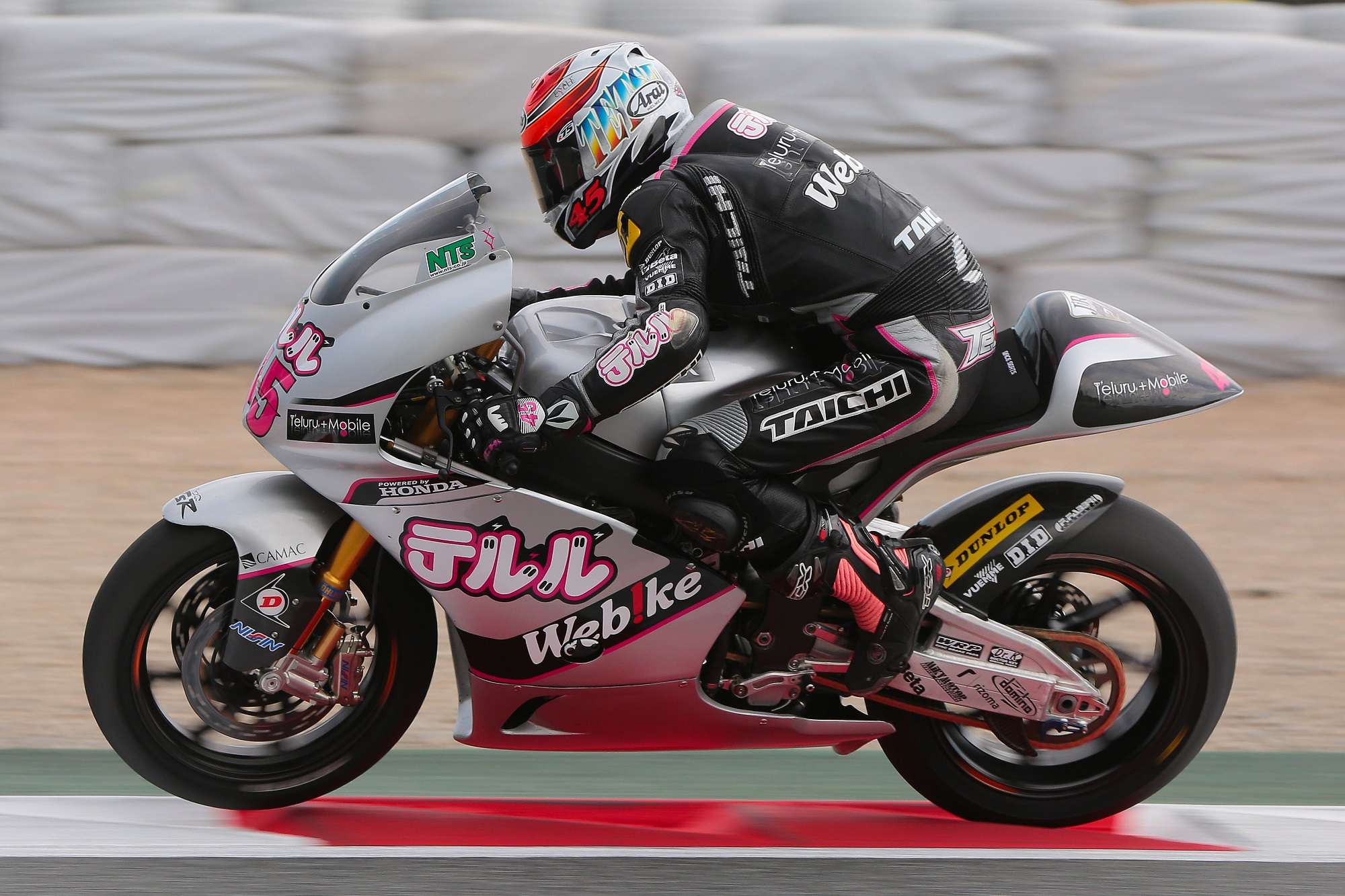 Nagashima makes improvements at Catalunya