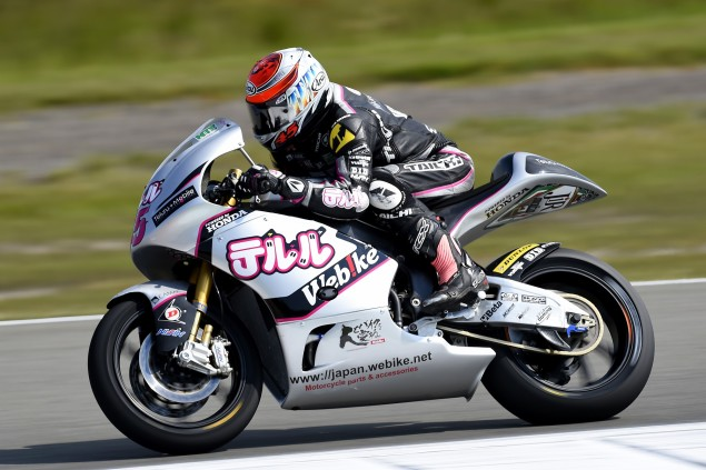 Nagashima getting to grips with Assen