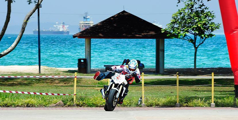 【Motoエクストリーム OGA】シンガポールスタントショーツアー