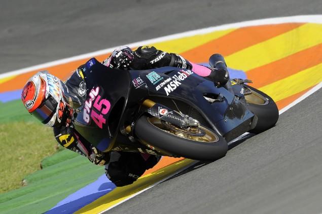 Nagashima easing himself into Moto2 action at Valencia