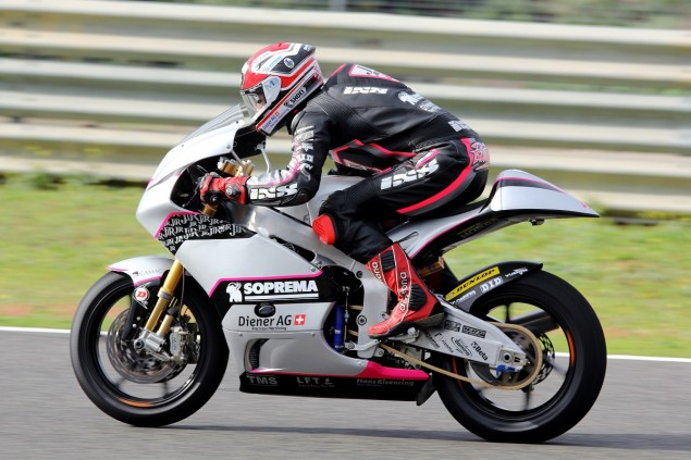 Krummenacher and Team JiR on top in testing