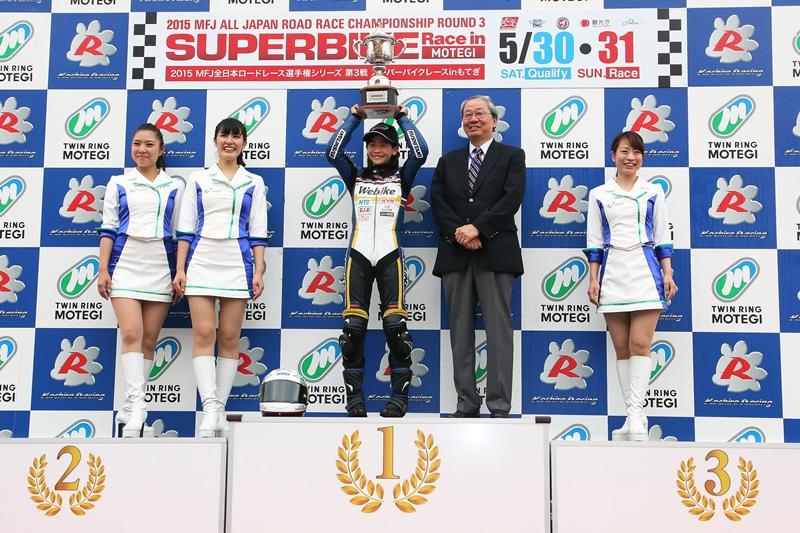 【Webikeチームノリックヤマハ】もてぎロードレース選手権 第3戦 Queen&Princess Trophy