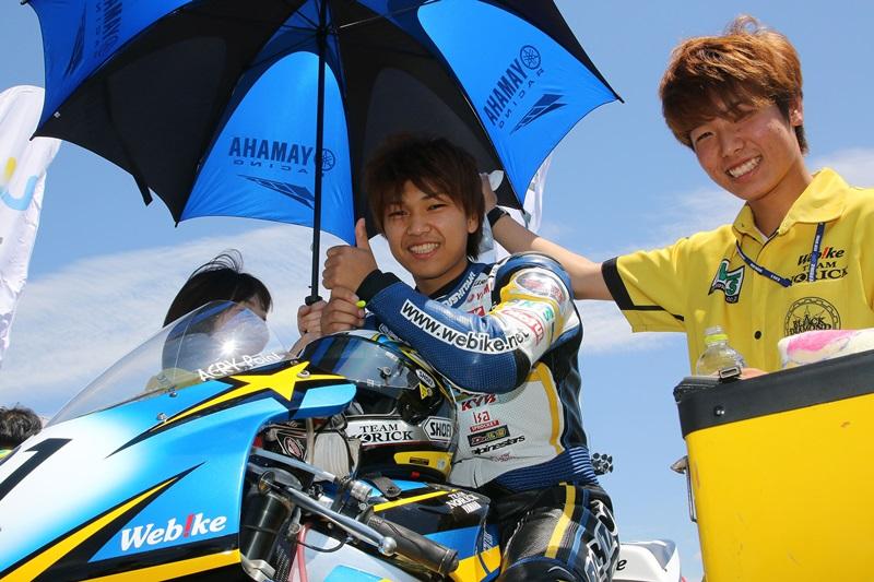 【Webikeチームノリックヤマハ】上和田拓海選手からのメッセージ