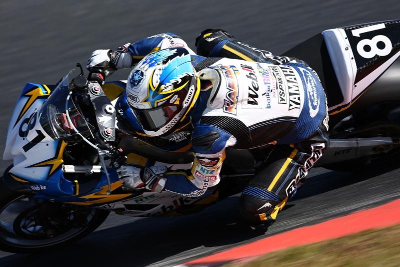 【Webikeチームノリックヤマハ】全日本選手権 第8戦 岡山国際サーキット J-GP2
