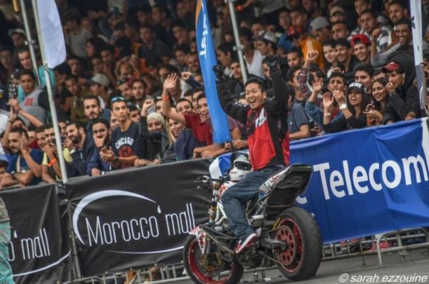 【Motoエクストリーム OGA】International Stunt Contest モロッコ大会で3位入賞!