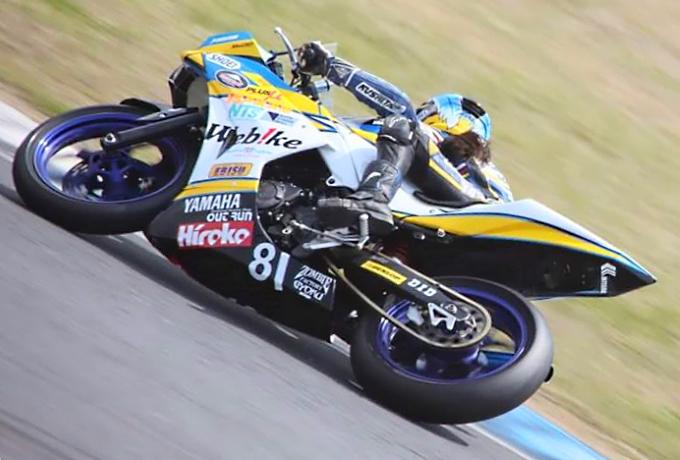 【Webikeチームノリックヤマハ】もてぎロードレース選手権 第2戦