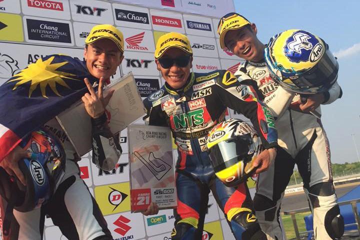 【T.Pro Yuzy Honda NTS】ARRC Rd.2 ついに、つかんだ表彰台の頂点!