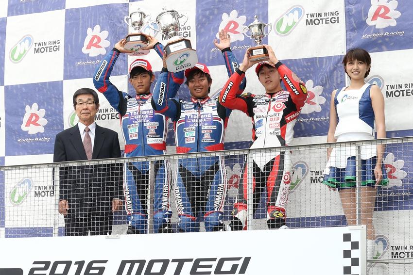 【ヤマハタイランドチームノリック】もてぎロードレース選手権第4戦