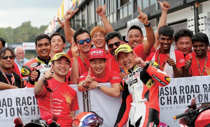【RAMA Honda by NTS T.Pro Ten 10.】ARRC Rd.1 羽田太河が覚醒!  落ち着いたレース運びで初優勝を達成 !!