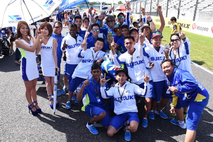 [Team KAGAYAMA]SACライダーたちのために 加賀山就臣、ARRC Rd.3 鈴鹿で3位表彰台を獲得
