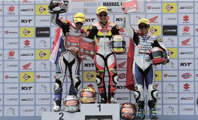 【T.Pro.Innovation】ARRC Rd.5 小山知良がレース1でAP250初優勝を達成!