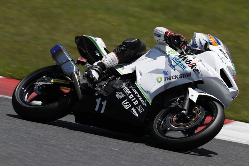 【Webike TRICK STAR Racing】ARRC AP250 Rd.3 限られた環境下で山本剛大がチームと健闘