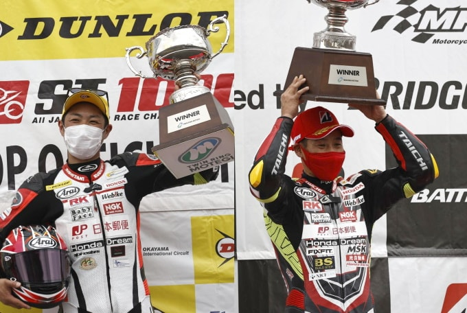 【T.Pro Innovation】日本郵便 Honda Dream TP、全日本ロードレース選手権第1戦 まさに劇的な勝利!