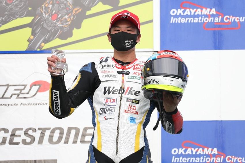 【Webikeチームノリックヤマハ】MFJ全日本ロードレース選手権 第6戦
