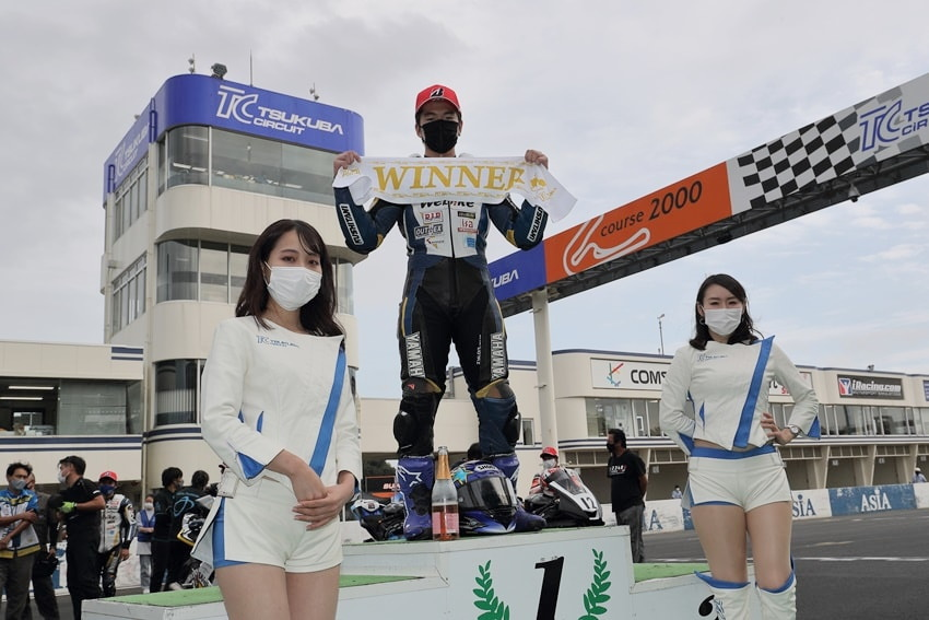 【Webikeチームノリックヤマハ】筑波ロードレース選手権シリーズ第4戦